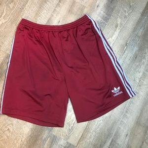 adidas trefoil athletic shorts
